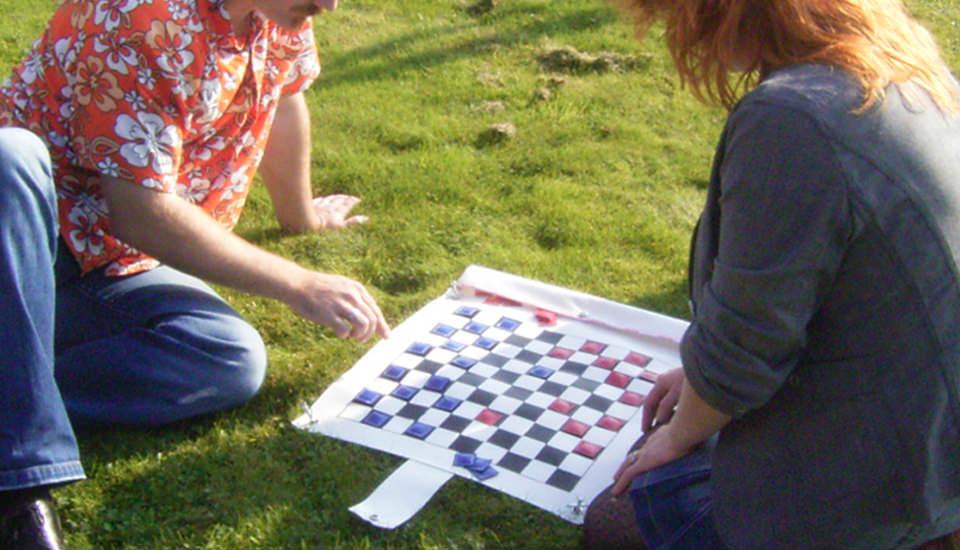 tarp checkerboard