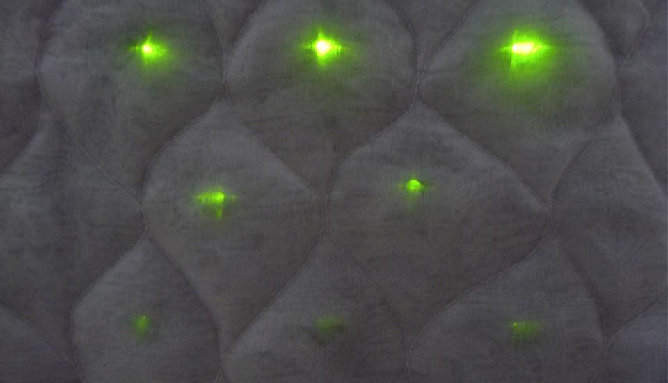 LEDs softened through layering